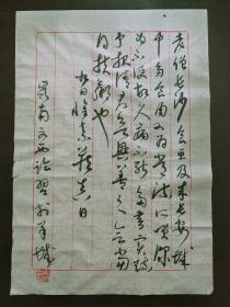 广美马文西教授临怀素食鱼帖书法