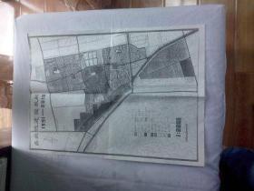 北京文献   清华大学著名教授朱祖成旧藏   西北旺用地平衡表、住宅方案