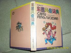 彩图风俗词典(85品小32开精装1991年1版1印52000册269页)43182