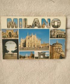 MILANO  名信片 16
