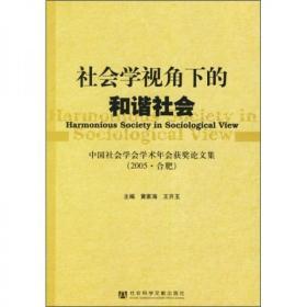 社会学视角下的和谐社会:中国社会学会学术年会获奖论文集(2005·合肥)