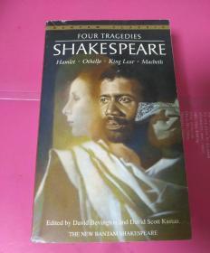Four Tragedies:Hamlet, Othello, King Lear, Macbeth