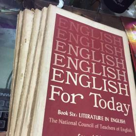ENGLISH今日英语(共7本合售)