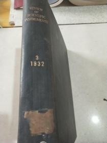 review of scietific instruments 3 1932 民国 科学仪器综述