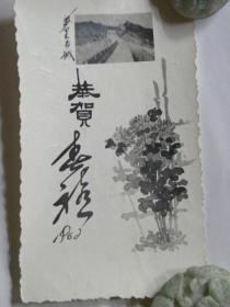 恭贺春禧—武汉体育学院同学互赠贺年卡(1962年)