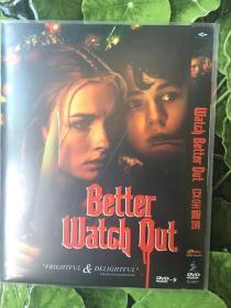 实拍 美国 澳大利亚 安全邻域 Better Watch Out (2016) DVD 奥利维亚·德容格 Olivia DeJonge 维吉妮娅·马德森 Virginia Madsen
