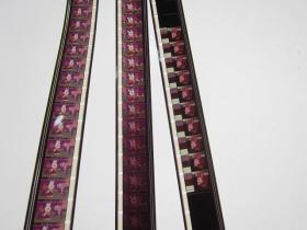 独木桥、补票 1988年国产美术片动画片 全新极品 16毫米电影胶片拷贝 1卷全套 彩色进口片基 原色 上海美术电影制片厂出品