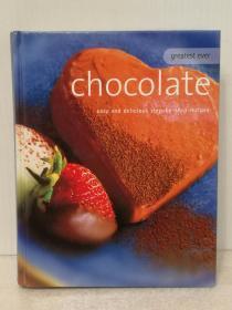 美味巧克力 Greatest Ever Chocolate:Easy and Delicious Step-by-Step Recipes (烹调)英文原版书