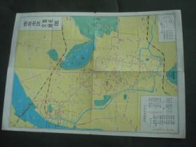 地图;南京市区交通.旅社图[内有三大纪律八项注意]