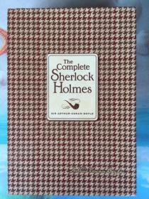 英文原版书《The Complete Sherlock Holmes》福尔摩斯探案全集 16开布面精装 近全新