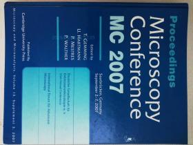 PROCEEDINGS MICROSCOPY CONFERENCE MC 2007