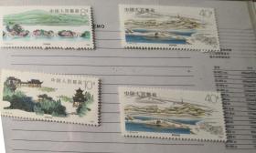 买书送邮票,有关杭州西湖的