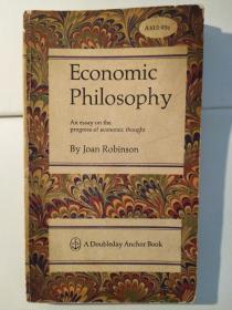 Economic Philosophy: An Essay on Progress of Econimic Thought