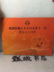 热烈庆祝江苏省妇女第十一次代表大会召开(邮品珍藏册)