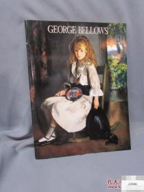 洛杉矶博物馆出版《乔治Bellows的绘画》大量绘画图录,1992年版