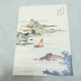 《圣诞贺年卡》 中国古代著名国画。外国发行。未使用。梁伯誉画。