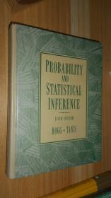 Probability and Statistical Inference 英文原版精装 16开