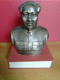 毛主席铜像【高20厘米·长18厘米·宽10厘米】