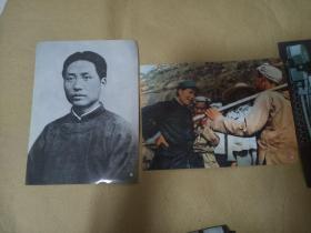 领袖风范 永垂青史(16开照片32张,文字说明12张)真实照片