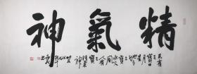 【保真】实力书法家唐逸飞精品:精气神