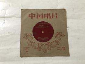 小薄膜唱片:延边人民热爱毛主席