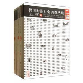 民国时期社会调查丛编[二编]近代工业卷(上、中、下)