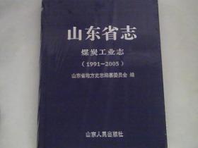 山东省志煤炭工业志【1991--2005】.