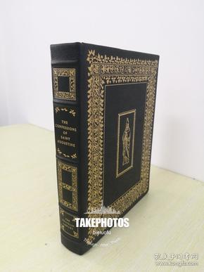 The Confessions of Saint Augustine 奥古斯汀《 忏悔录》 franklin library 1976年真品精装限量收藏版