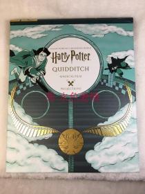哈利波特魁地奇投影书电筒书 美版 Magical Projection Quidditch