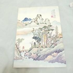 《圣诞贺年卡》未使用。中国古代著名国画,李明萱画。外国发行。