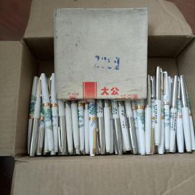 大公牌铱金笔一一全新未使用、单枝20元、整盒10枝220元