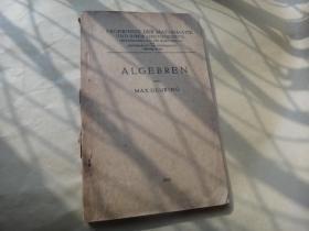 ALGEBREN VON MAX DEURING