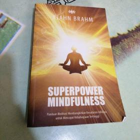 SUPERPOWER MINDFULNESS  平装32开,请看图
