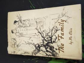 THE FAMILY(英文版,著名作家巴金代表作之一、长篇小说《家》,硬精装,1978出版284页,书封有少量水渍,封面、内页没有水渍)