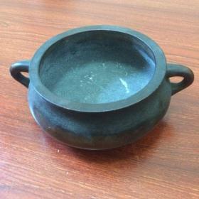 古朴簋式紫铜香炉