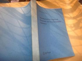 springer series in statistics  introduction to empirical processes and semiparametric inference 斯普林格数理统计系列 经验过程与半参数推理导论 复印本