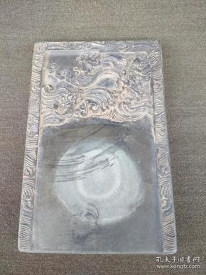 老石雕龍硯臺