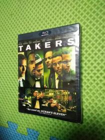 光盘DVD【银行匪帮 Takers】未拆封