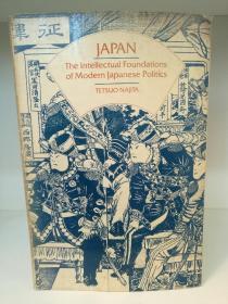 纳吉塔·哲夫:日本现代政治基础 Japan  The Intellectual Foundations of Modern Japanese Politics by Tetsuo Najita (日本研究)英文版