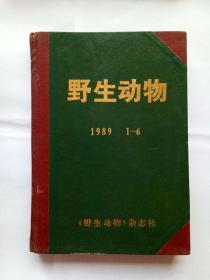 野生动物 1989年 1-6期