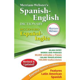 Merriam-Webster's Spanish-English Dictionary韦氏西班牙语-英语词典
