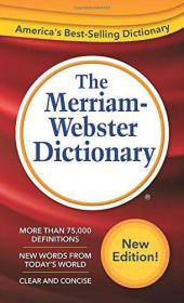 The Merriam-Webster Dictionary韦氏词典语言参考词典套装