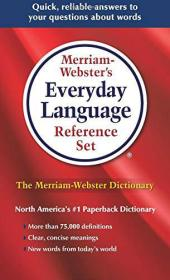 Merriam-Webster's Everyday Language Reference Set韦氏词典语言参考词典套装