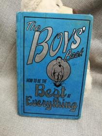 英文原版 the boys book : how to be the best at everything 男孩们的书:如何做到最好
