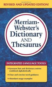 Merriam-Webster's Dictionary and Thesaurus韦氏字典和同义词词典