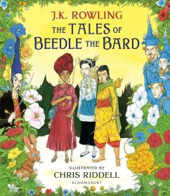 The Tales of Beedle the Bard Illustrated Edition《吟游诗人的故事》插图版