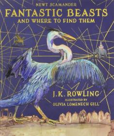 Fantastic Beasts and Where to Find Them : Illustrated Edition神奇动物在哪里 插图版
