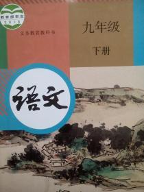 初中语文课本九年级下册,初中语文课本9年级下册,初中语文2018年1版,初中语文mm