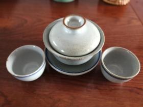 龙小燕——中国美术学院硕士手工作【一茶碗二杯】