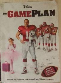 英文原版 The Game Plan by Disney 著